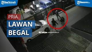 Seorang Pria Lawan Begal di Bandung saat akan Menjemput Calon Istrinya
