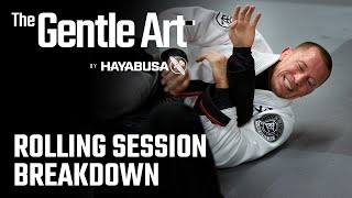 Georges St-Pierre BJJ Rolling Session | Technique Commentary Breakdown | The Gentle Art