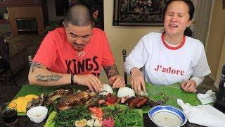 ILOCANO STYLE MUKBANG | FILIPINO FOOD