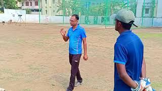 Coach Saurabh Kumar@ About fielding skills ##@## GenNex Cricket Academy@Patna