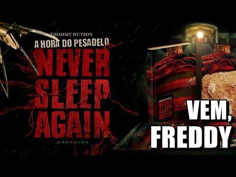 FOLHEANDO A HORA DO PESADELO: NEVER SLEEP AGAIN | Coleção Dissecando