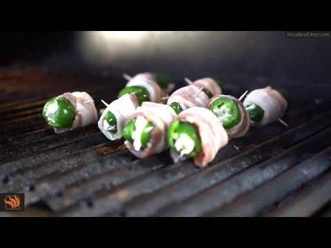 Jalapeño Poppers on the American Muscle Grill