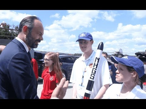 French Aerospace suppliers - Salon du bourget 2019 - Finale du Rocketry Challenge