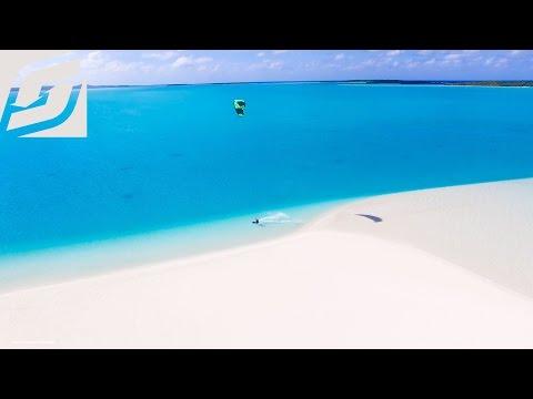 Kitesurf alle Isole Cook