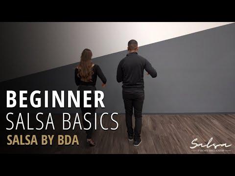 Salsa Dancing Beginner Basics Tutorial Video
