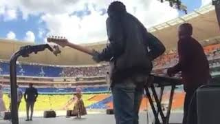 Winnie Mashaba At FNB Stadium With ZCC, Apostle, Shembe, And Other Various Churches