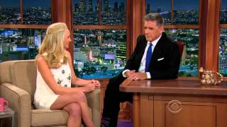 Candice Accola On The Late Late Show Of Craig Ferguson April 28 2014