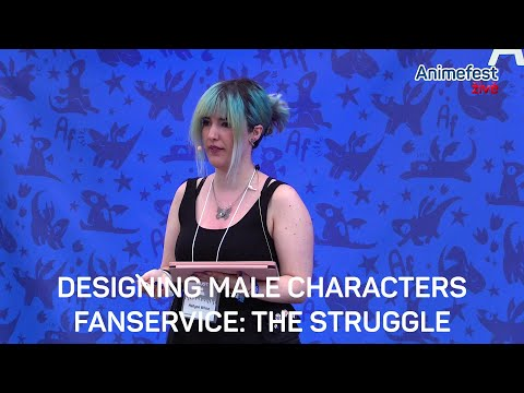 Designing Male Characters Fanservice: The Struggle
