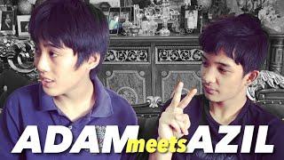 Autism boy Adam meets Abg Azil