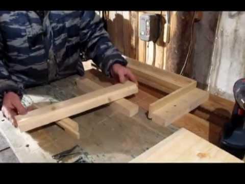 Сборка дна и 6 рамочного корпуса на 145 мм рамку