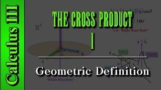 Calculus III: The Cross Product (Level 1 of 9)  Geometric Def...