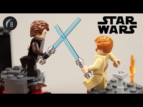 Vidéo LEGO Star Wars 75269 : Duel sur Mustafar
