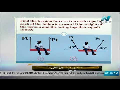 فيزياء لغات الصف الأول الثانوي ( ترم 2 ) - مراجعة ليلة الامتحان || 13 مايو 2020