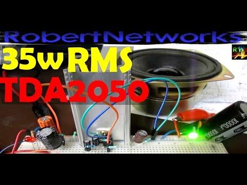 Potente Amplificador Con TDA2050 - RobertNetworks