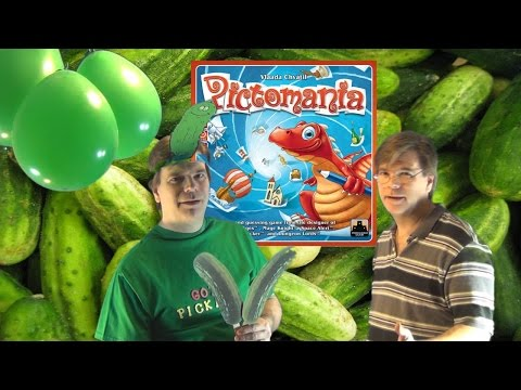 It's a Pictomania Board Game Review, Not Picklemania