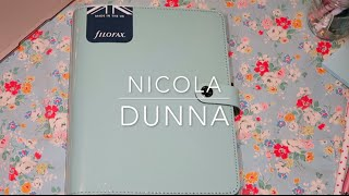 Filofax A5 The Original Duck Egg Blue Look Through | Nicola Dunna