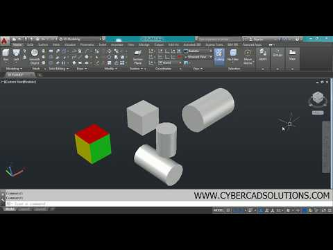 What are Planes & How to Change UCS in AutoCAD 3D