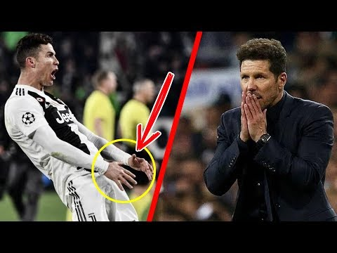El HORRIBLE festejo con el que CR7 SE BURLÓ de Simeone