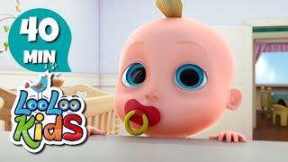 Rain, Rain Go Away - The BEST Songs and Nursery Rhymes for Children | LooLoo Kids