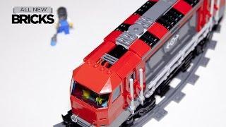 Lego City 60098 Heavy Haul Train Speed Build