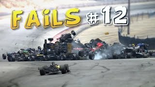 Racing Games FAILS Compilation #12