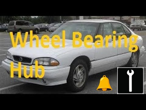 How to change a  front wheel bearing 1992–1999 Pontiac Bonneville