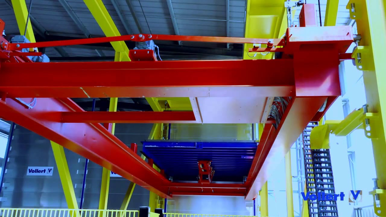 VOLLERT Semi-Automated Production of Double Walls and Floor Slabs