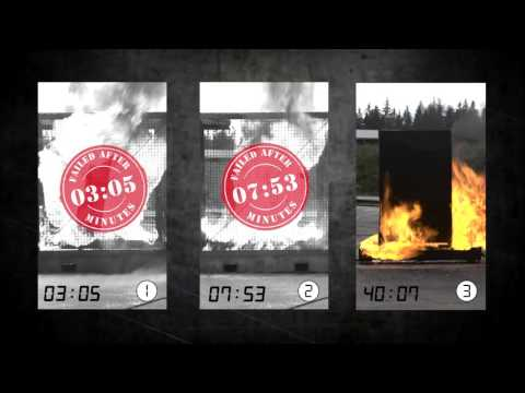 asecos Fire Performance Test SP Method