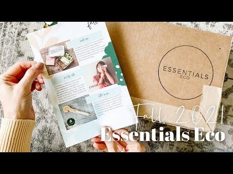 Essentials Eco Unboxing Fall 2021