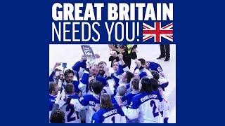 Team Presentation Great Britain   #IIHFWorlds 2019