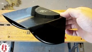 HOW TO Cut, Bend And Shape Hard Plastics: vinyl, PVC, acrylic, plexiglas, etc