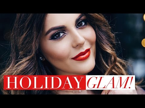 Holiday Glam Makeup Tutorial | Smokey Cat Eye