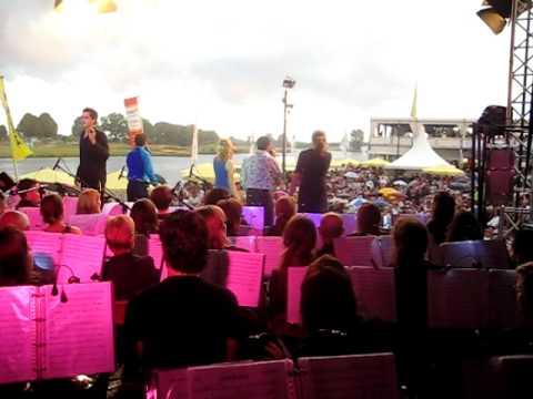 Selectie kadeconcert Cuijk - 22 juli 2010