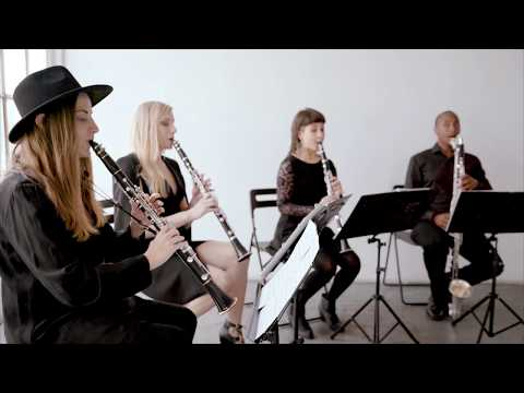 Four Play clarinet - D.A.N.C.E. by Justice Cover
