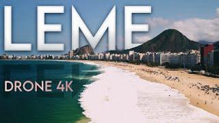 Praia do LEME em 4K - Rio de Janeiro - DJI MINI 2 - Imagens aéreas e FPV Drone