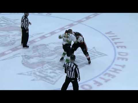 Thomas Bellemare vs. Jonathan Doucet