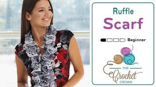 Knit A Ruffled Scarf