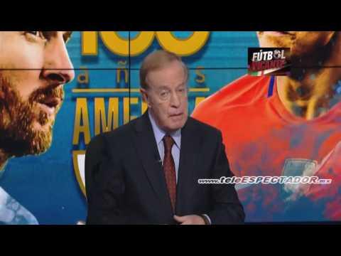Analisis del ARGENTINA vs CHILE - Final Copa America 2016 - Futbol Picante [1/2]