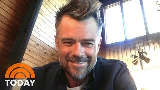 Josh Duhamel Talks Quarantine In The Wilderness And Film 'Think Like A Dog'   TODAY