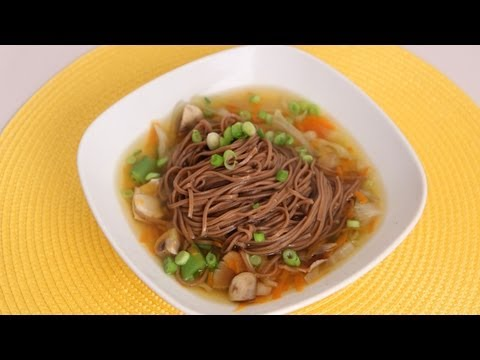 Quick Soba Noodle Soup Recipe – Laura Vitale – Laura in the Kitchen Episode 519