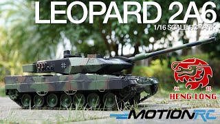 Leopard 2A6 - Heng Long TK6.0 RC Tank - Motion RC Overview