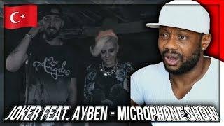 Joker feat. Ayben - Microphone Show (Official Video) TURKISH RAP MUSIC REACTION!!!