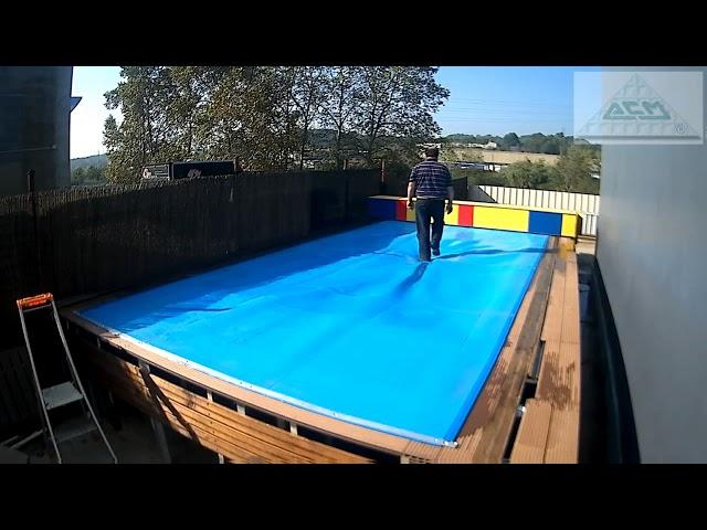Cubiertas para piscinas fabricantes de tarimas for Fabricantes piscinas