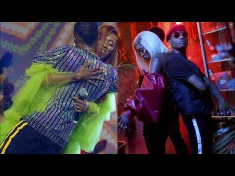 WIZKID & TIWA SAVAGE HOT ROMANCE ON & OFF THE STAGE