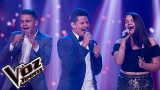 Yoly, Sammy y Alejandro cantan 'Como me duele' | Batallas | La Voz Teens Colombia 2016
