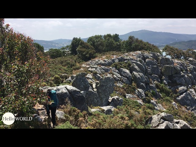 Streckenbeispiel von der spanischen Nordküste