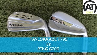 TAYLORMADE P790 IRON V PING G700 IRON