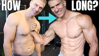 How Long To 10% Body Fat (Weeks)
