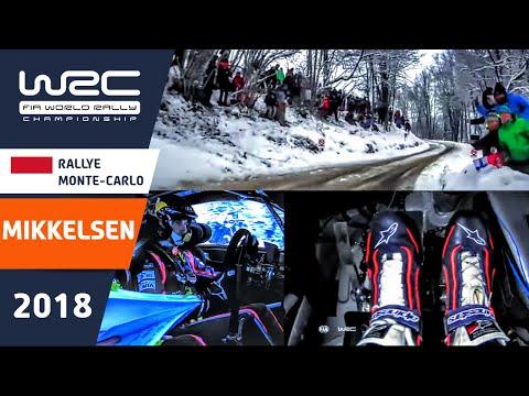 WRC - Rallye Monte-Carlo 2018: ONBOARD Mikkelsen SS09
