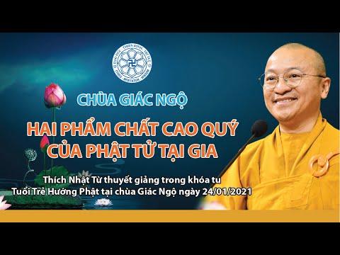 Hai phẩm chất cao quý của Phật tử tại gia